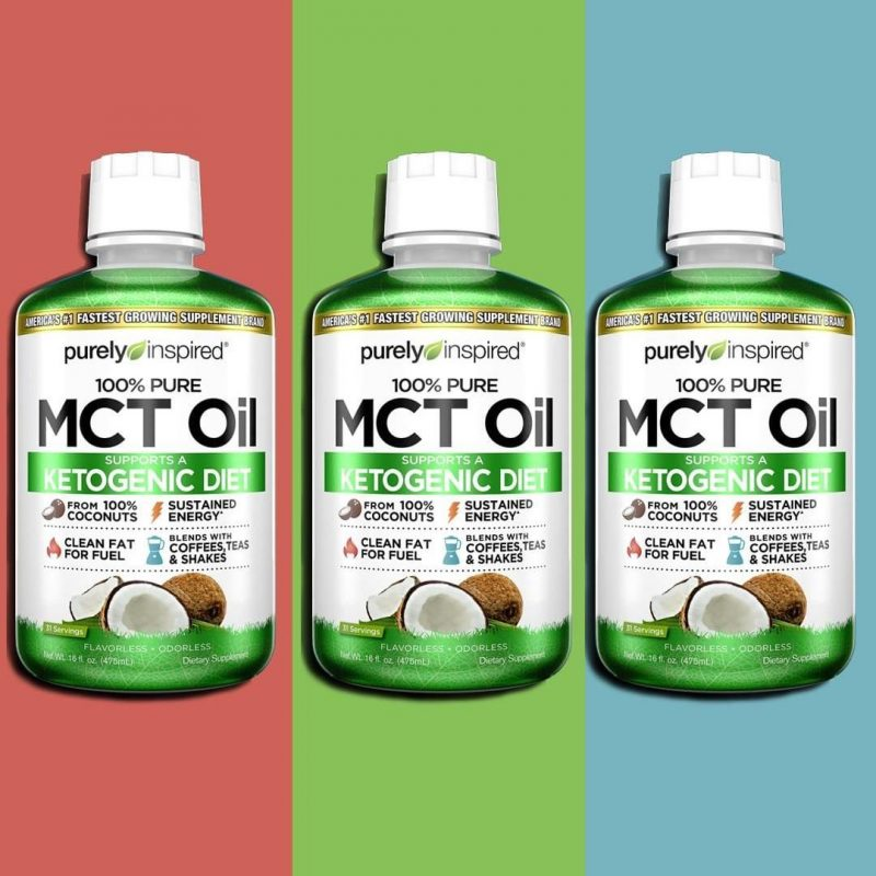 Organic MCT Oil 1 - Iovate - Certified Paleo, KETO Certified by the Paleo Foundation