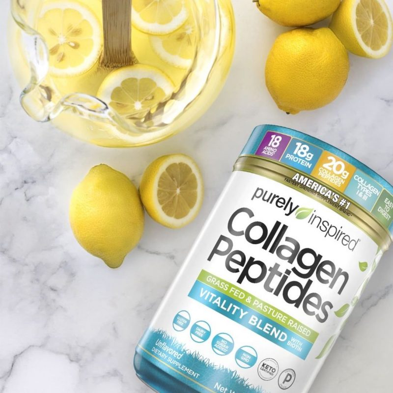 Purely Inspired Collagen Peptides 3 - Iovate - Certified Paleo, KETO Certified by the Paleo Foundation