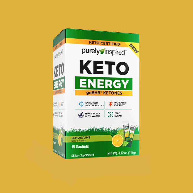 Purely Inspired Keto Energy 11 - Iovate - Certified Paleo, KETO Certified by the Paleo Foundation