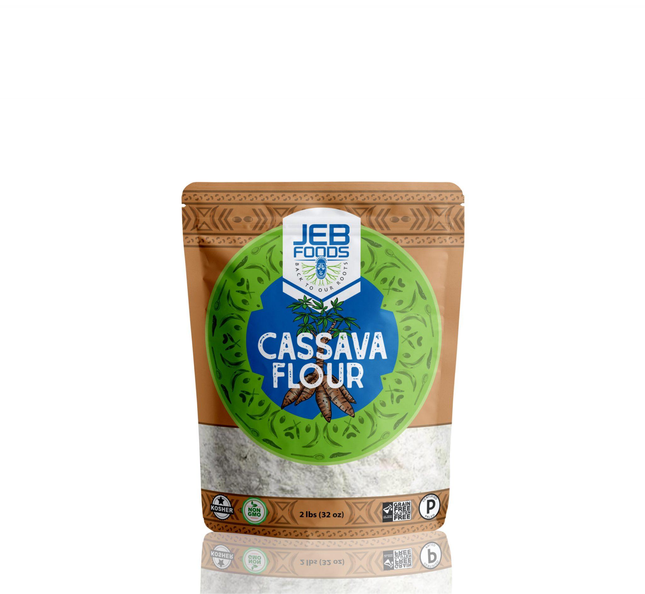Cassava Flour - Jeb Foods - Grain Free Certified Paleo Keto Certified by the Paleo Foundation