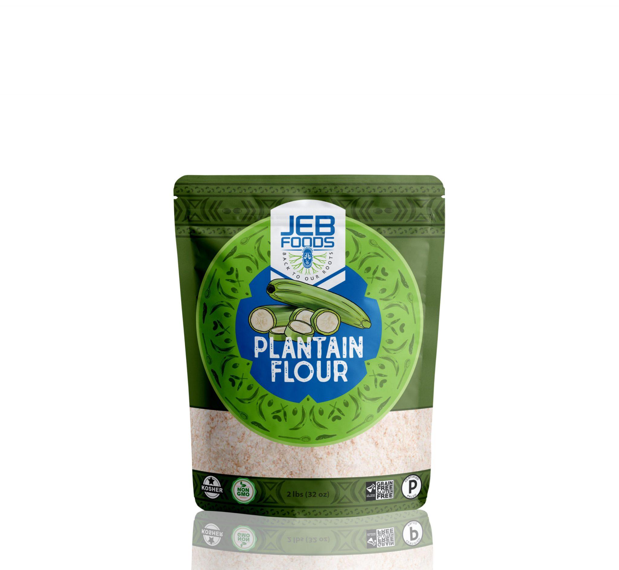 Plantain Flour - Jeb Foods - Grain Free Certified Paleo Keto Certified by the Paleo Foundation