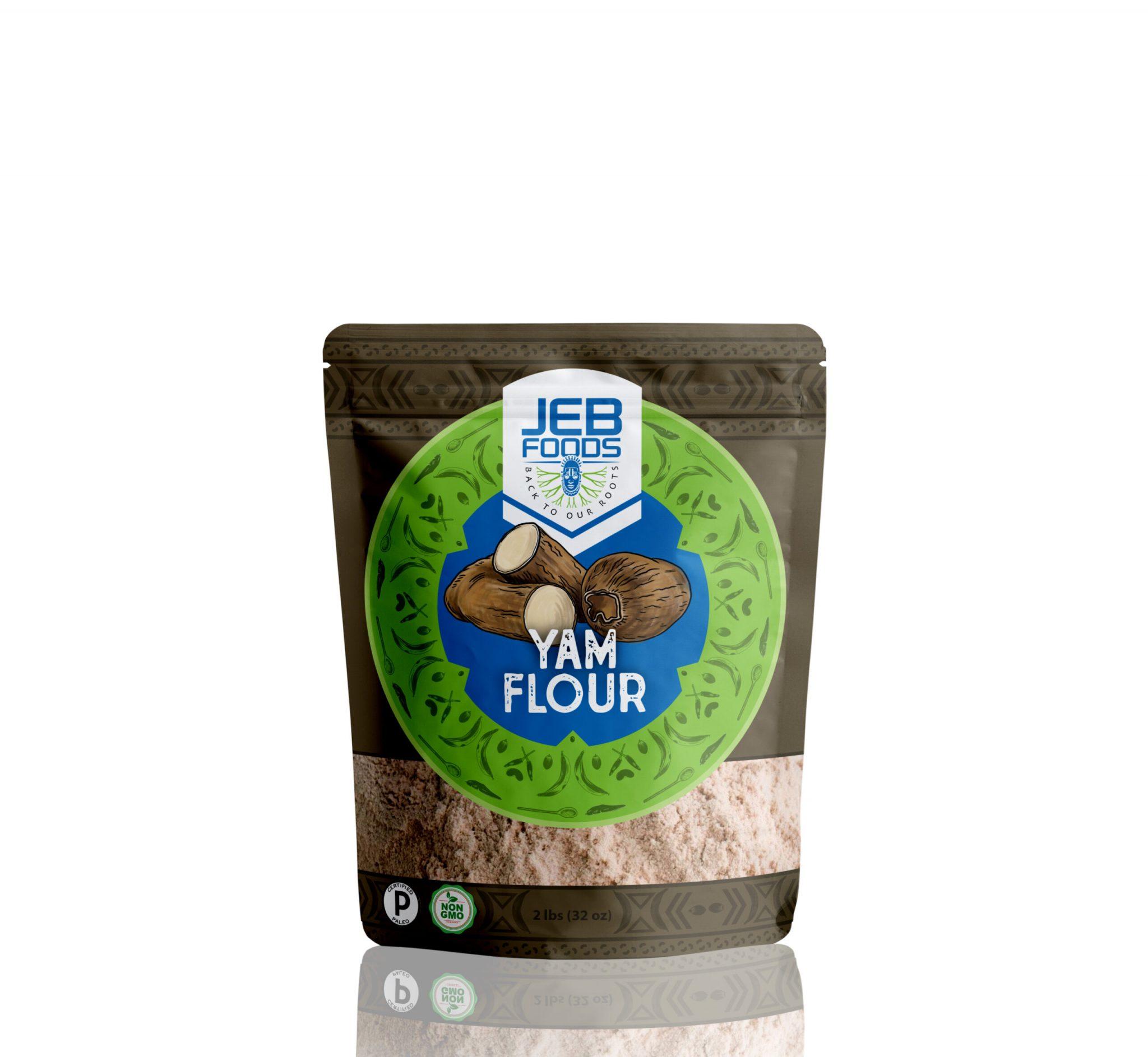Yam Flour - Jeb Foods - Grain Free Certified Paleo Keto Certified by the Paleo Foundation