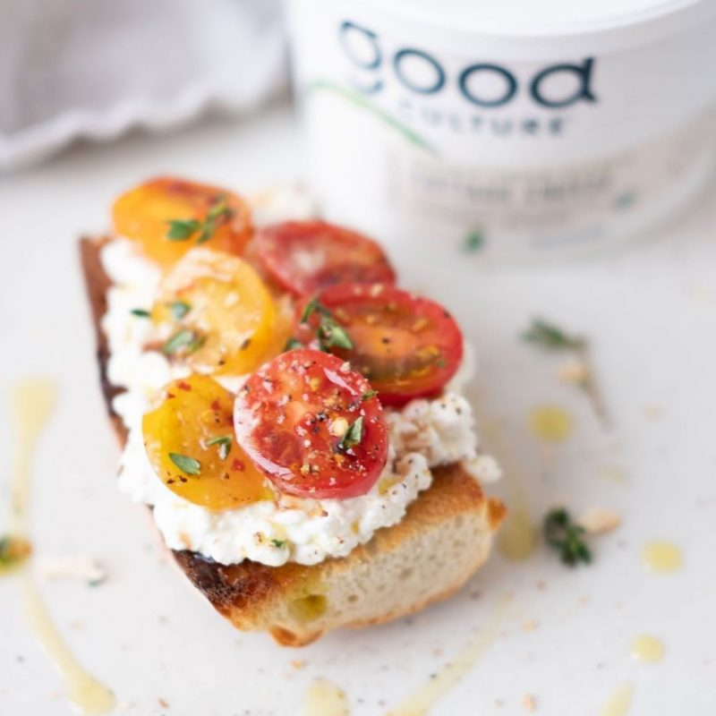 Cottage Cheese toast - Good Culture - Keto Certified by the Paleo Foundation