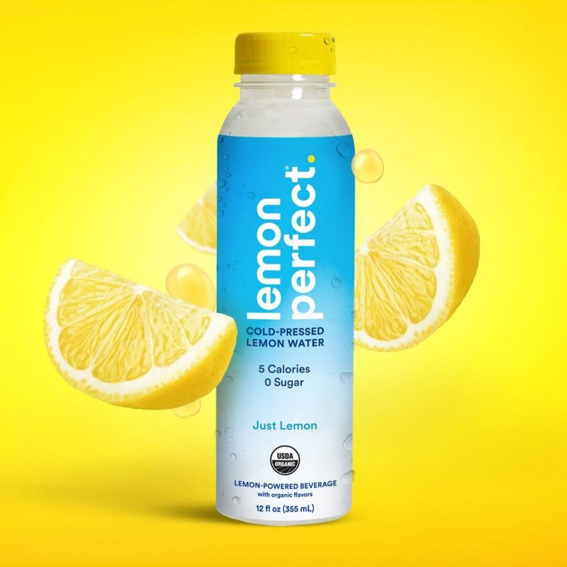 Just Lemon 4 - The Lemon Perfect Company - Keto Certified by the Paleo Foundation