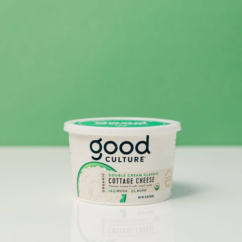 Organic Double Cream Classic Cottage Cheese 3 - Good Culture - Keto Certified by the Paleo Foundation