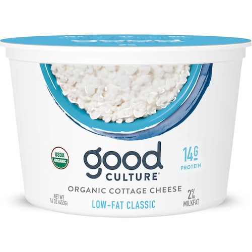 Organic Low Fat Cottage Cheese - Good Culture - Keto Certified - Paleo Foundation