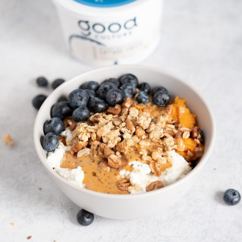 Organic Whole Milk Classic Cottage Cheese 1 - Good Culture - Keto Certified by the Paleo Foundation