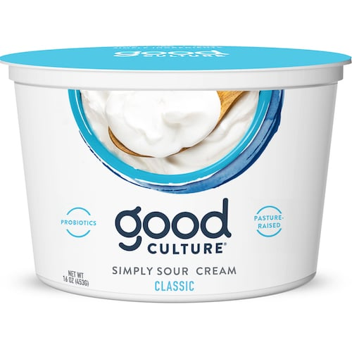 Simply Classic Sour Cream - Good Culture - Keto Certified - Paleo Foundation