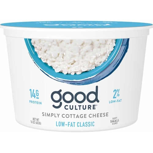 Simply Cottage Cheese Low Fat Classic - Good Culture - Keto Certified - Paleo Foundation