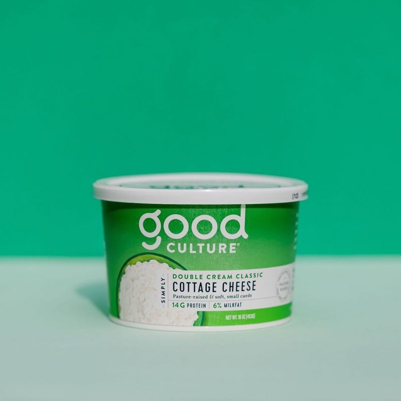 Simply Double Cream Classic Cottage Cheese 1 - Good Culture - Keto Certified by the Paleo Foundation