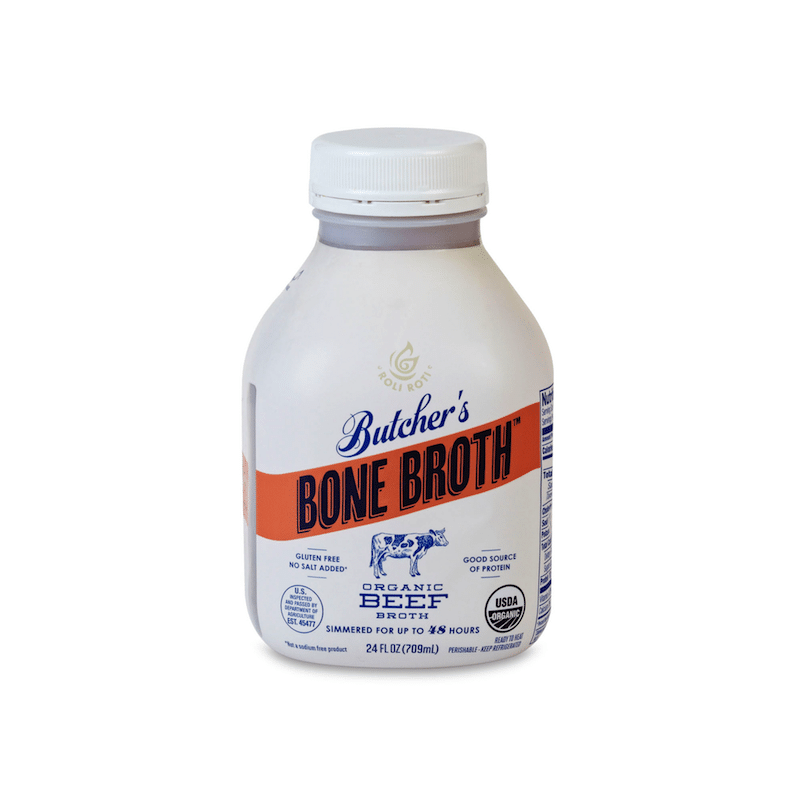 Butchers Bone Broth Beef - Roli Roti - Certified Paleo, Keto Certified - Paleo Foundation
