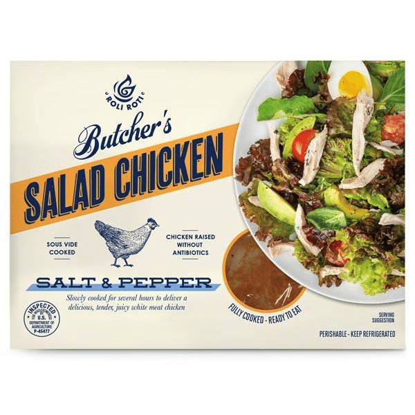 Butcher's Salt & Pepper Salad Chicken - Roli Roti - Certified Paleo, Keto Certified - Paleo Foundation