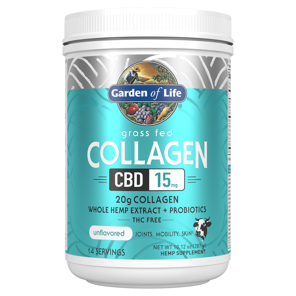 Collagen CBD - Garden of Life - Certified Paleo, Keto Certified by the Paleo Foundation