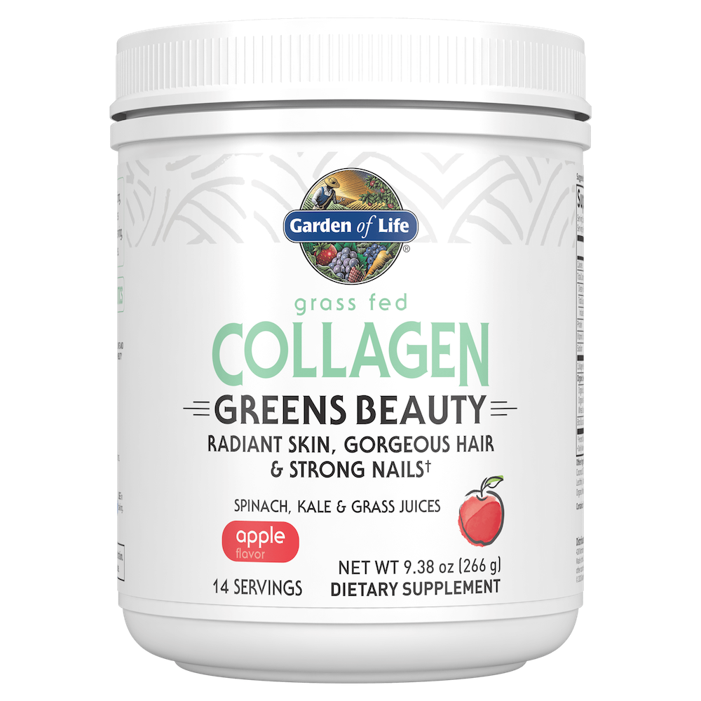 Collagen Greens Beauty - Garden of Life - Certified Paleo, Keto Certified by the Paleo Foundation