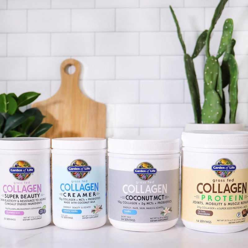 Collagen Lineup 1 - Garden of Life - Certified Paleo, KETO Certified - Paleo Foundation