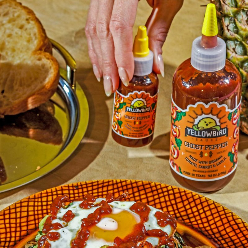Ghost Pepper On Eggs - Yellowbird Foods - Certified Paleo, Keto Certified by the Paleo Foundation
