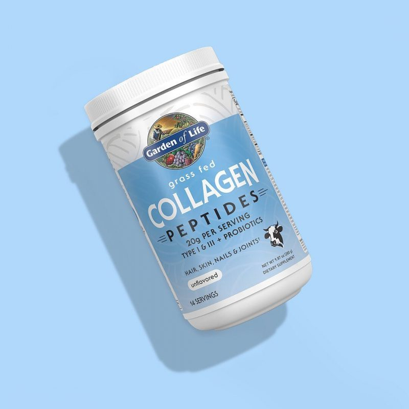 Grass Fed Collagen Peptides 2 - Garden of Life - Certified Paleo, KETO Certified - Paleo Foundation