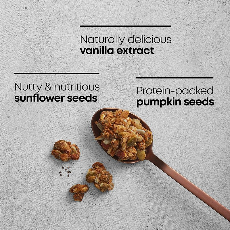 Ingredients Grain Free Granola - Nature's Path Foods - Certified Paleo Friendly, KETO Certified by the Paleo Foundation