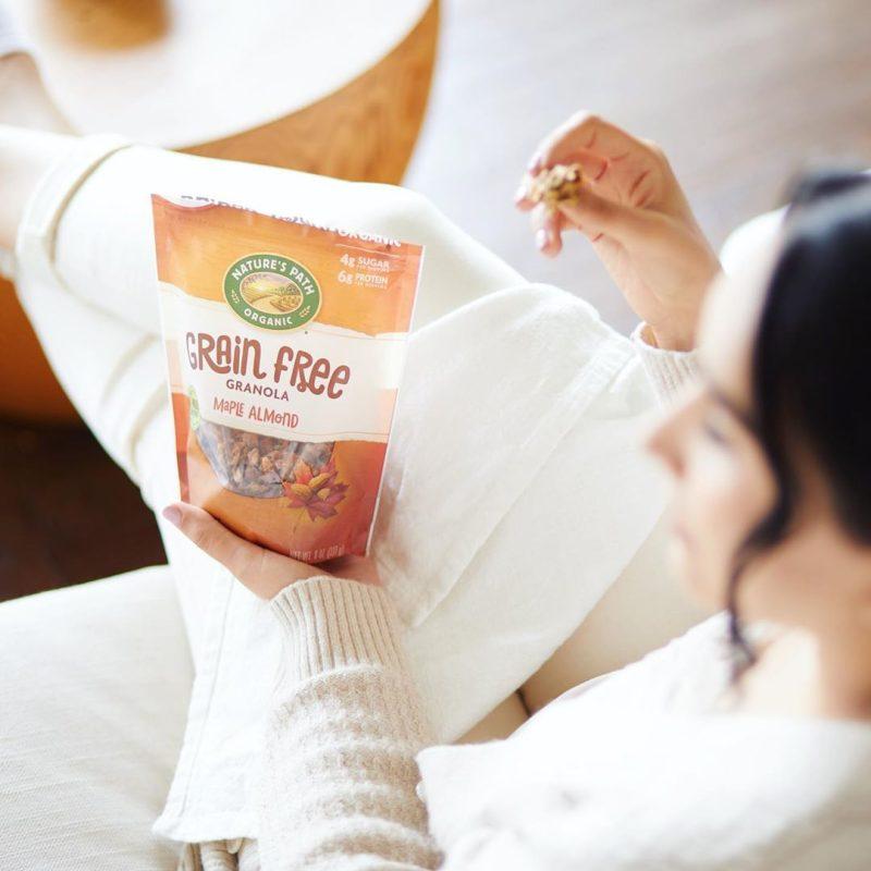 Maple Almond Grain Free Granola 01 - Nature's Path Foods - Paleo Friendly, KETO Certified - Paleo Foundation