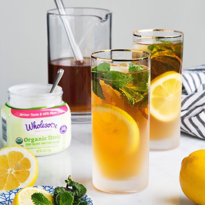 Mint Green Tea Soda - Wholesome Sweeteners - KETO Certified - Paleo Foundation