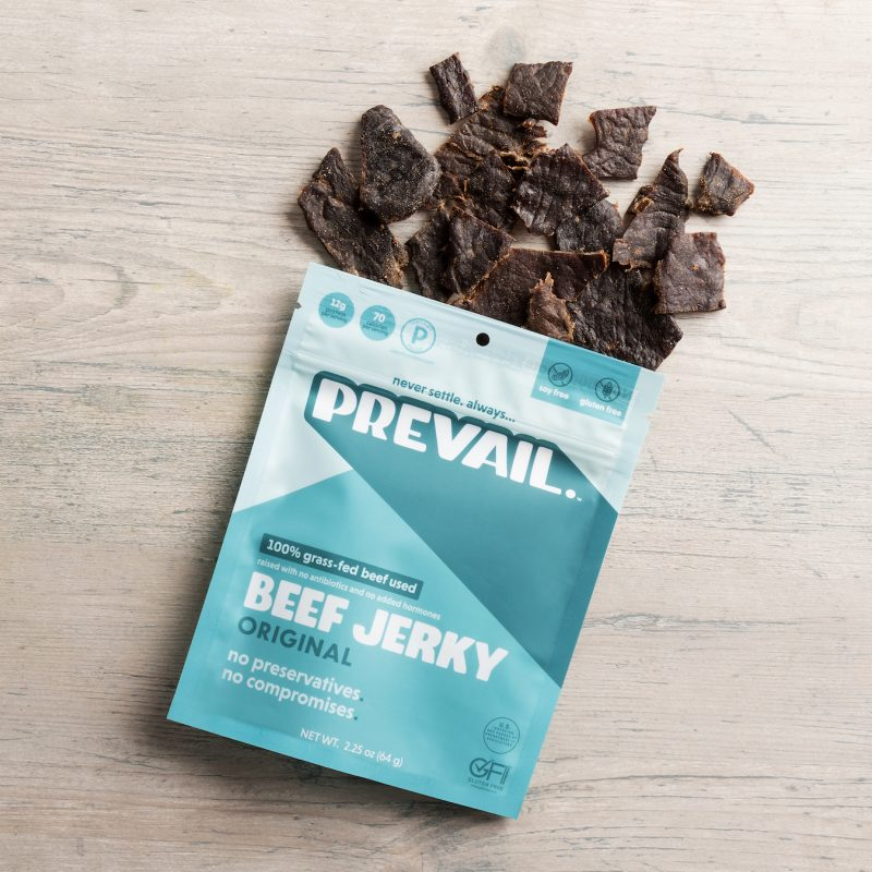 Original Beef Jerky - Prevail Jerky - Certified Paleo, KETO Certified by the Paleo Foundation