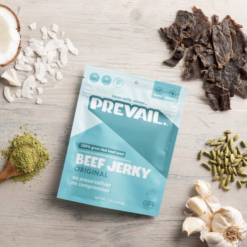 Original Flavor - Prevail Jerky - Certified Paleo, KETO Certified by the Paleo Foundation