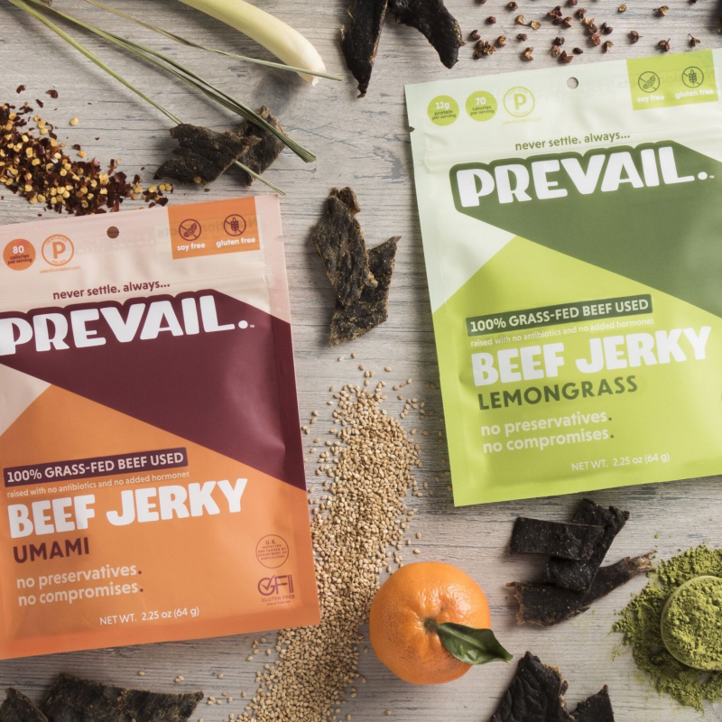 Prevail Jerky - Certified Paleo, KETO Certified by the Paleo Foundation C