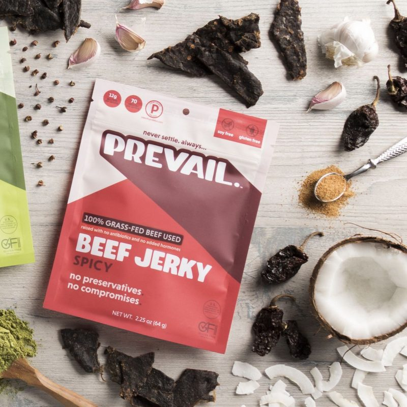 Prevail Jerky - Certified Paleo, KETO Certified by the Paleo Foundation R