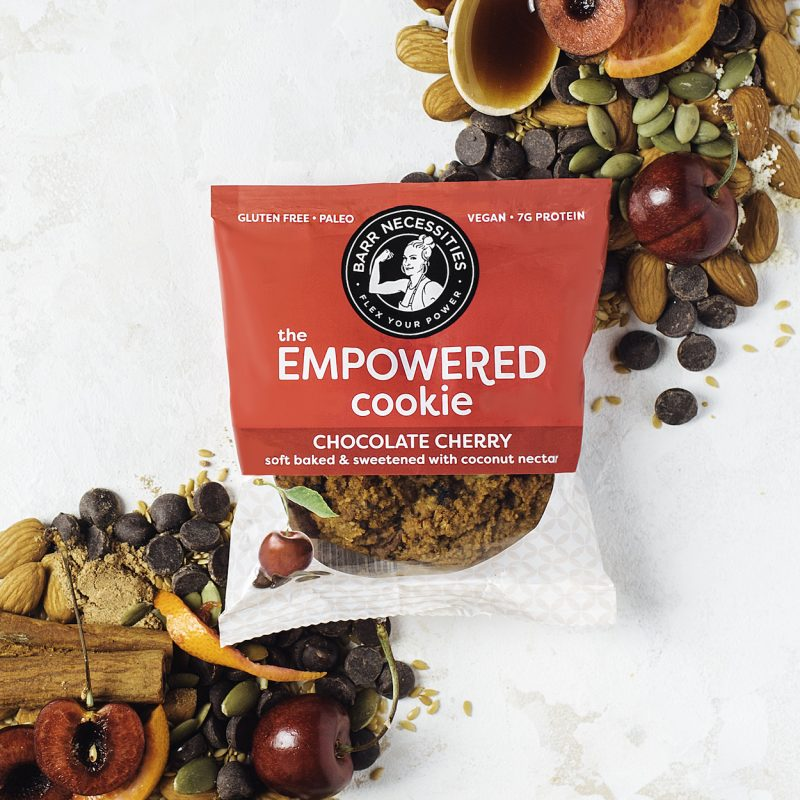 The Empowered Cookie - Chocolate Cherry - Barr Necessities - Paleo Friendly by the Paleo Foundation