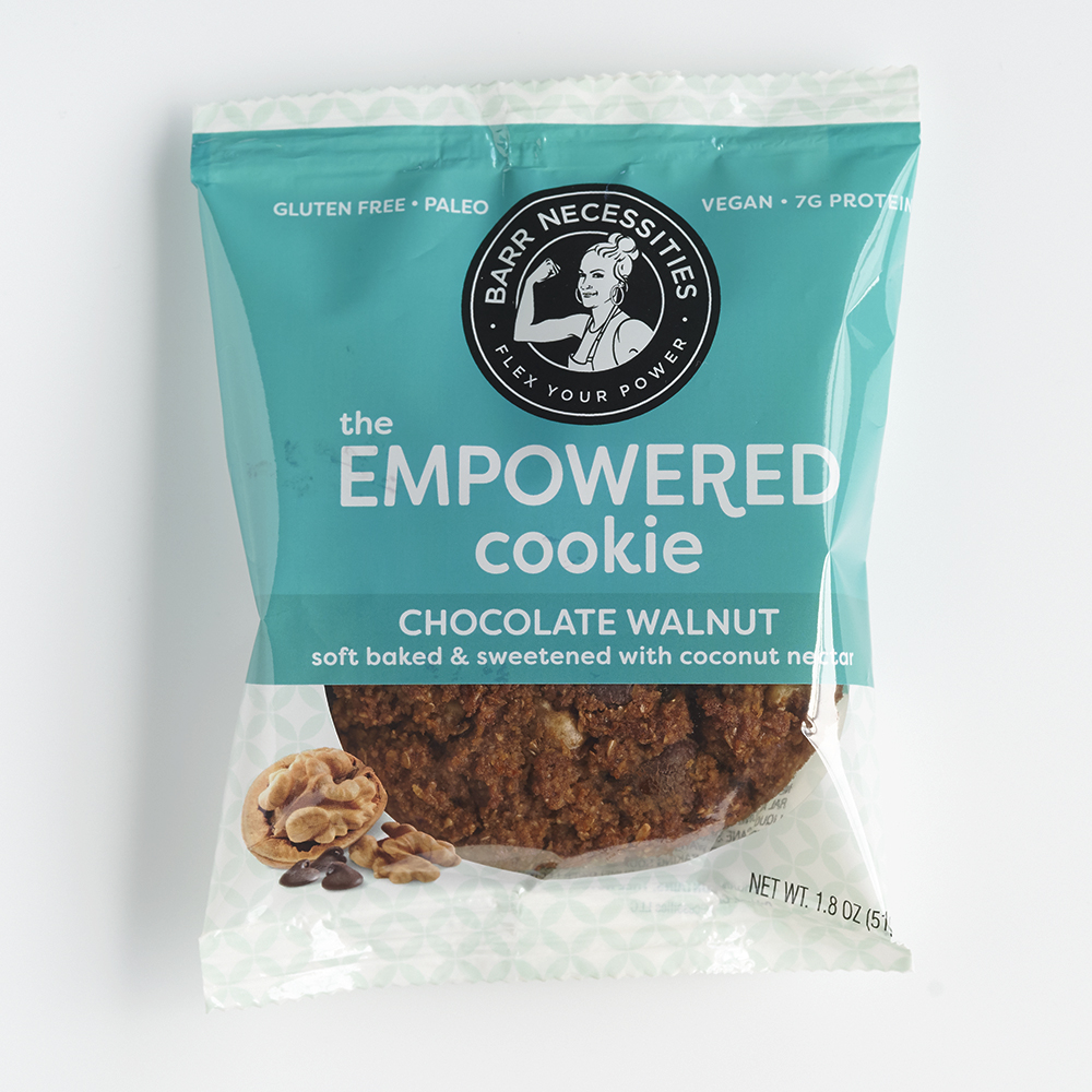 The Empowered Cookie - Chocolate Walnut - Barr Necessities - Paleo Friendly by the Paleo Foundation