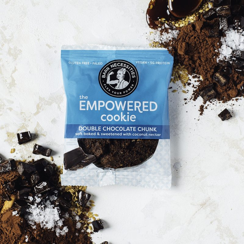 The Empowered Cookie - Double Chocolate Chunk - Barr Necessities - Certified Paleo Friendly, PaleoVegan by the Paleo Foundation