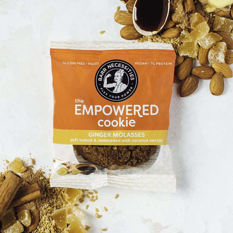 The Empowered Cookie - Ginger Molasses - Barr Necessities - Certified Paleo Friendly, PaleoVegan by the Paleo Foundation