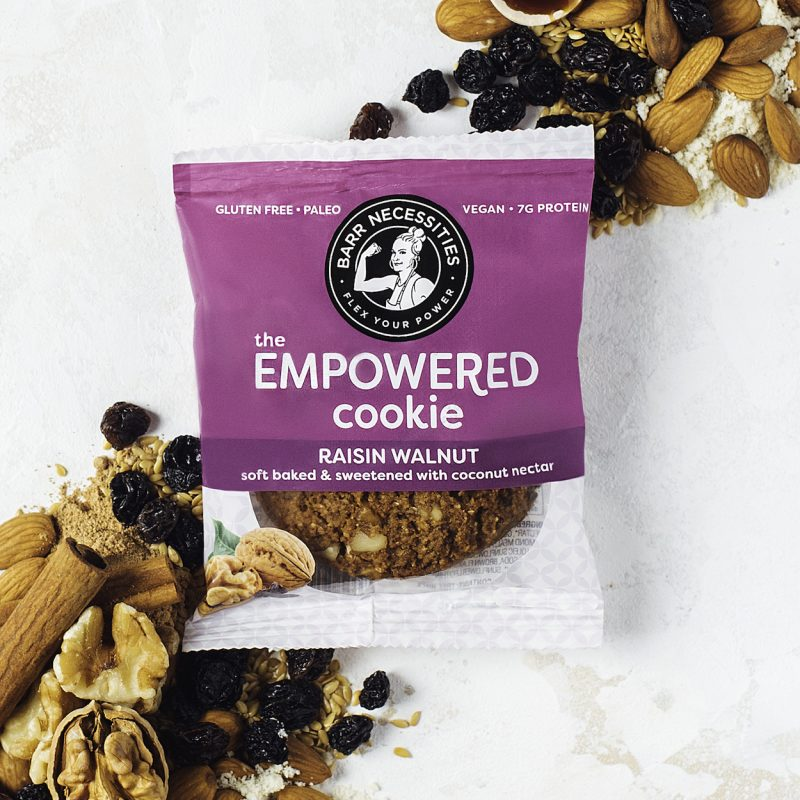 The Empowered Cookie - Raisin Walnut - Barr Necessities - Certified Paleo by the Paleo Foundation