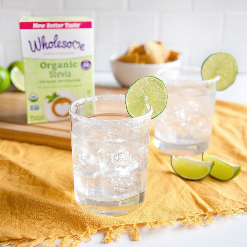 Wholesome Organic Zero w: skinny margarita - Wholesome Sweeteners - KETO Certified - Paleo Foundation