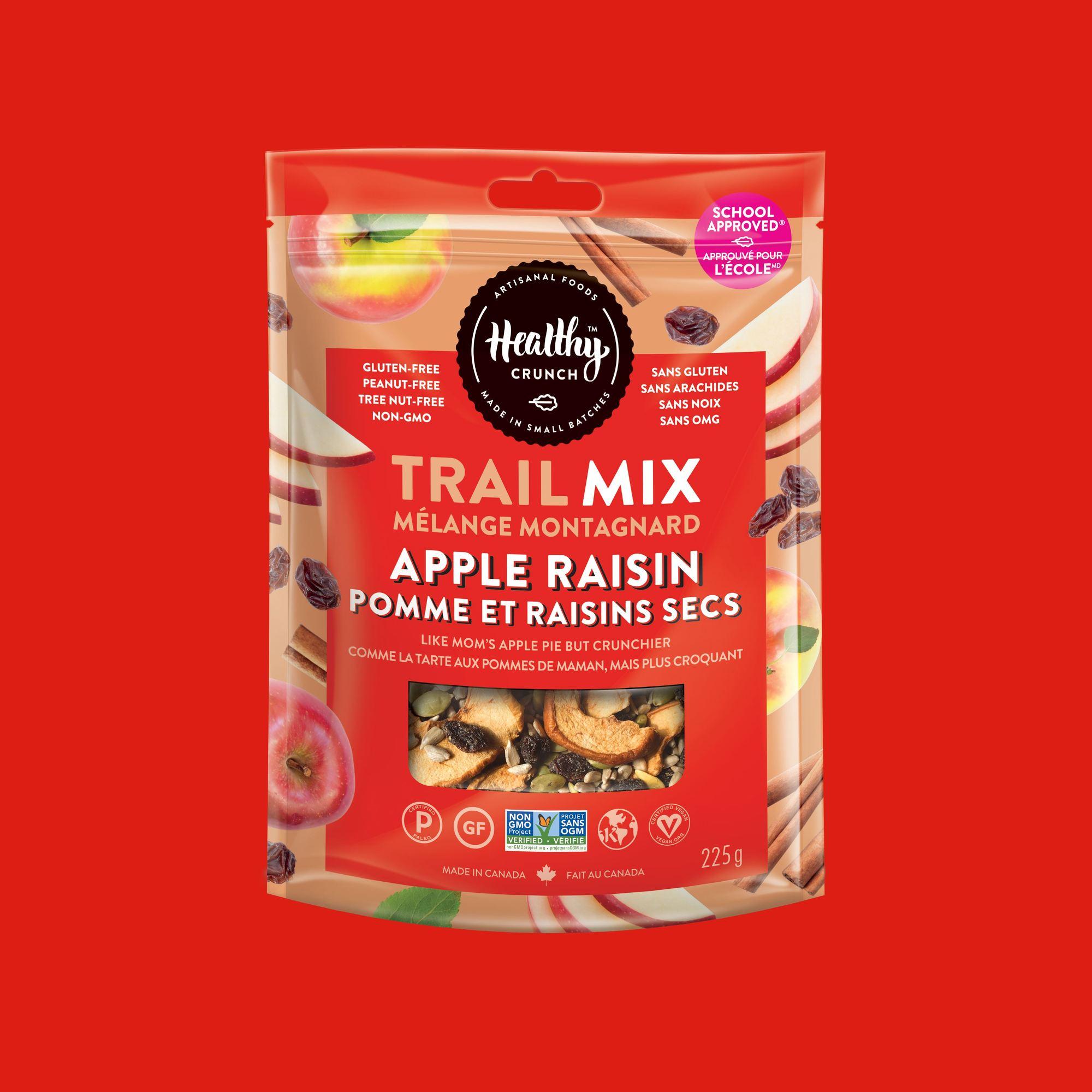 Apple Raisin Trail Mix