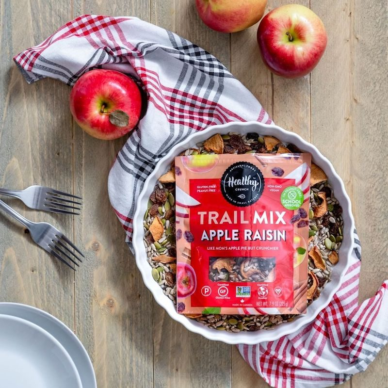 Apple Raisin Trail Mix - The Healthy Crunch Company - Certified Paleo - Paleo Foundation