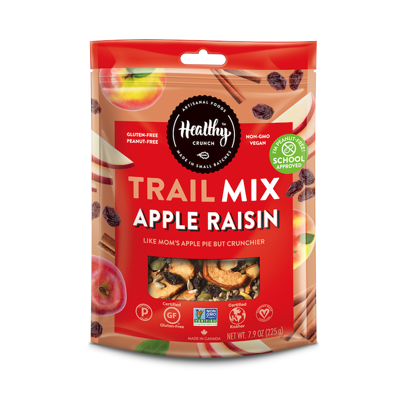 Apple Raisin Trail Mix - The Healthy Crunch Company - Certified Paleo - Paleo Foundation