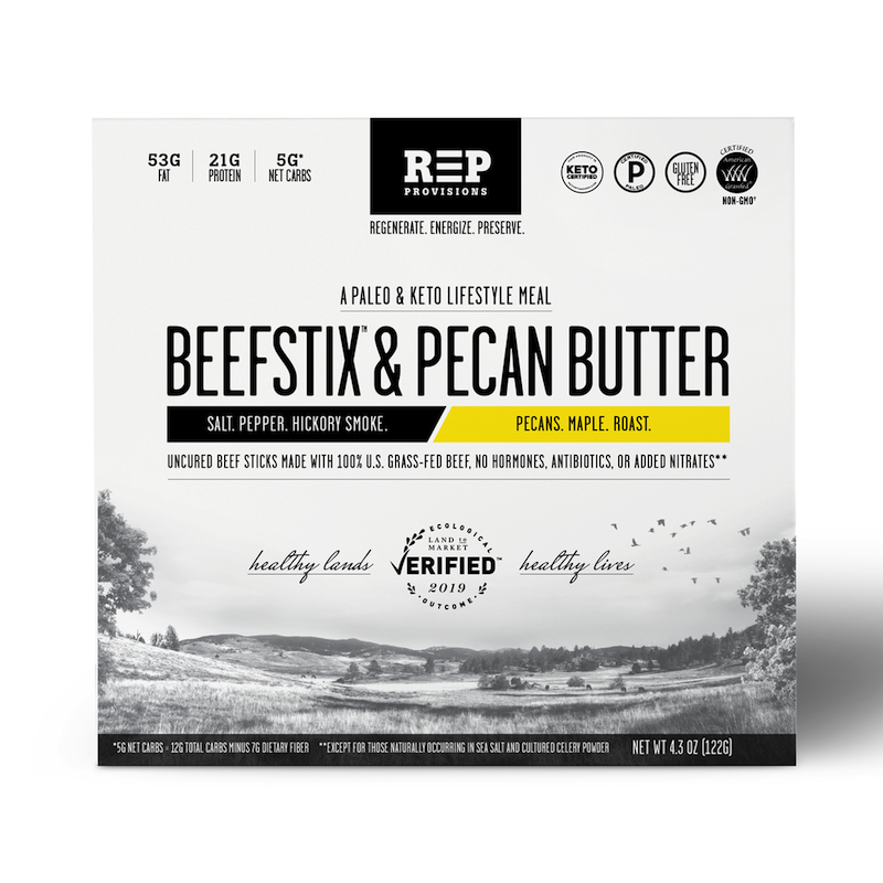 Beefstix & Nut Butter Meals - Certified Paleo, KETO Certified - Paleo Foundation