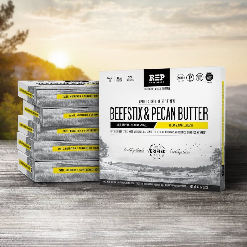 Beefstix & Pecan Butter Meals - REP Provisions - Certified Paleo, KETO Certified by the Paleo Foundation