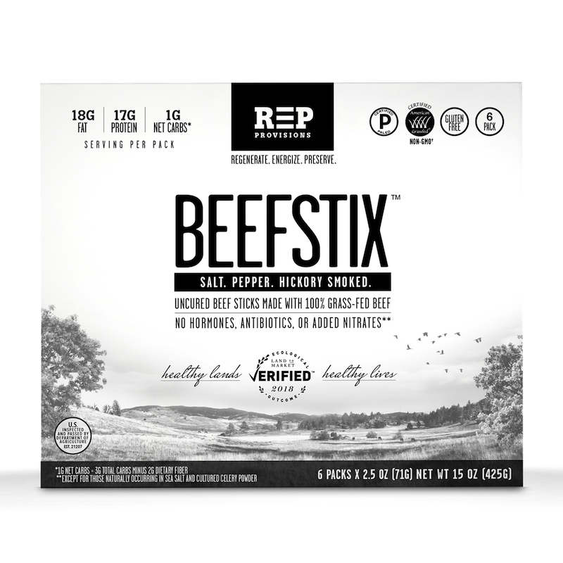 Beefstix - REP Provisions - Certified Paleo, KETO Certified - Paleo Foundation