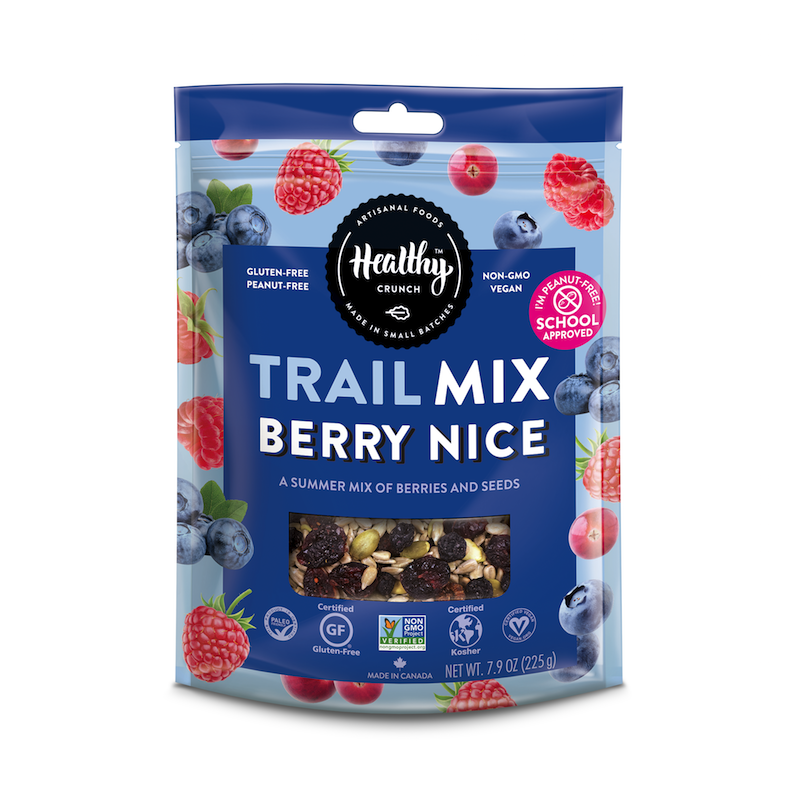 Berry Nice Trail Mix - The Healthy Crunch Company - Paleo Friendly - Paleo Foundation