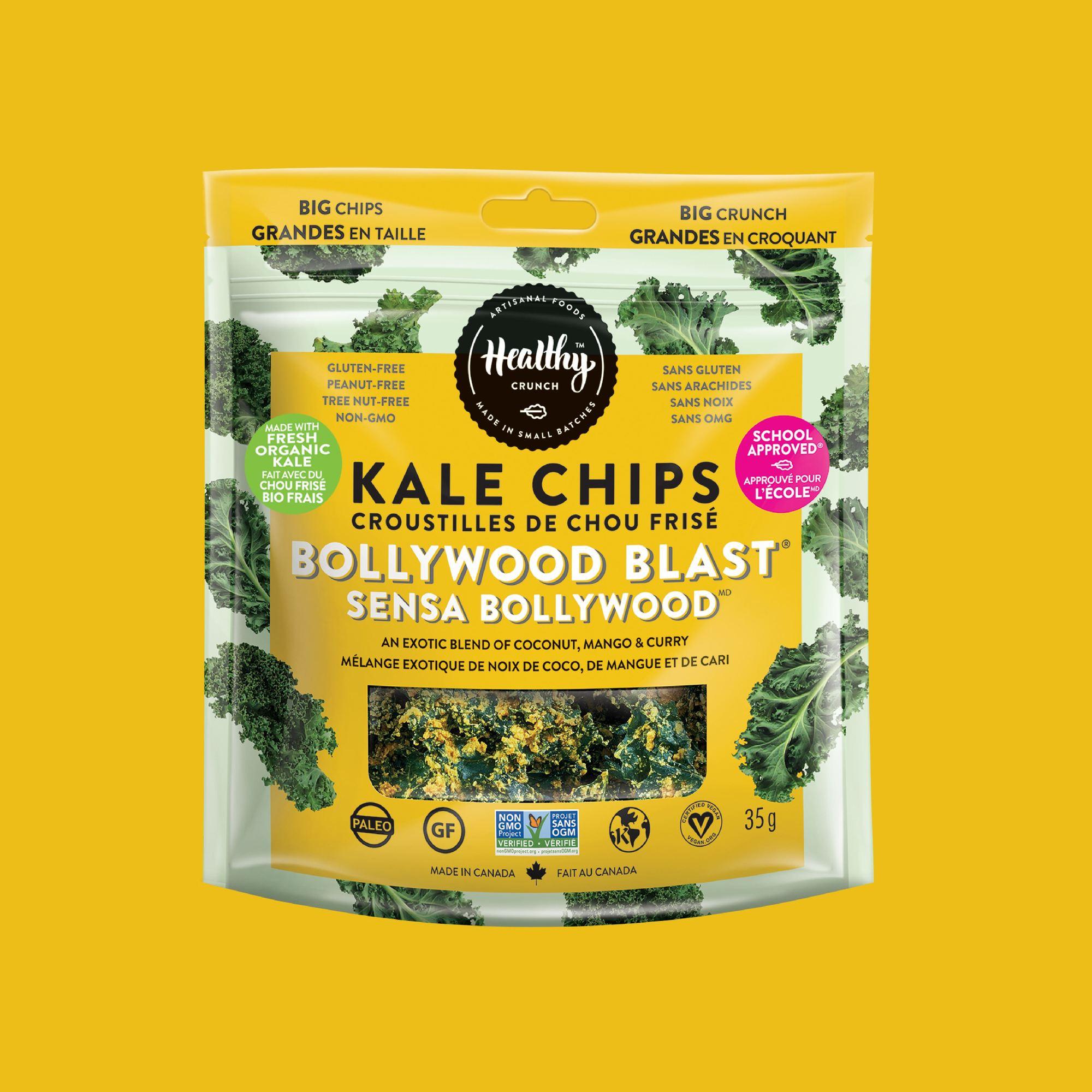 Bollywood Blast Kale Chips