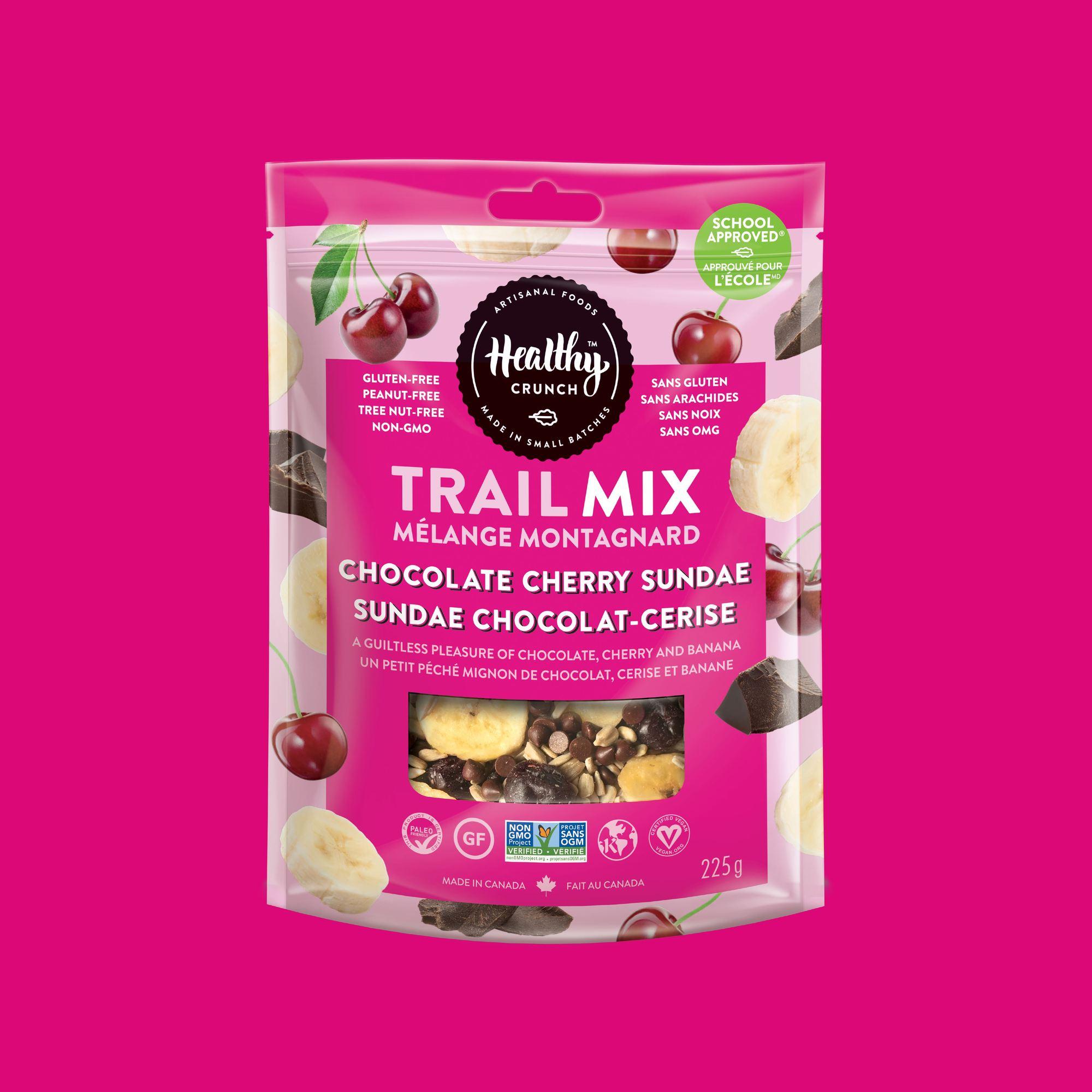 Chocolate Cherry Sundae Trail Mix