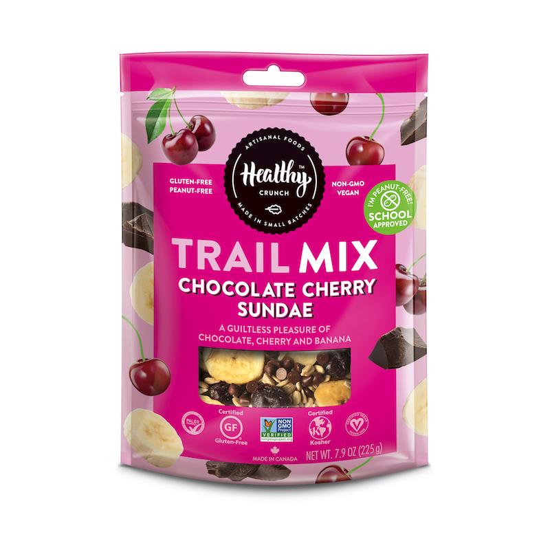 Chocolate Cherry Sundae Trail Mix - The Healthy Crunch Company - Paleo Friendly - Paleo Foundation