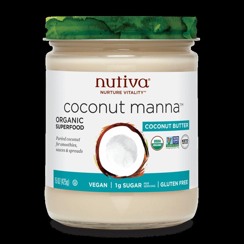 Coconut Manna - Nutiva - Certified Paleo, Keto Certified by the Paleo Foundation