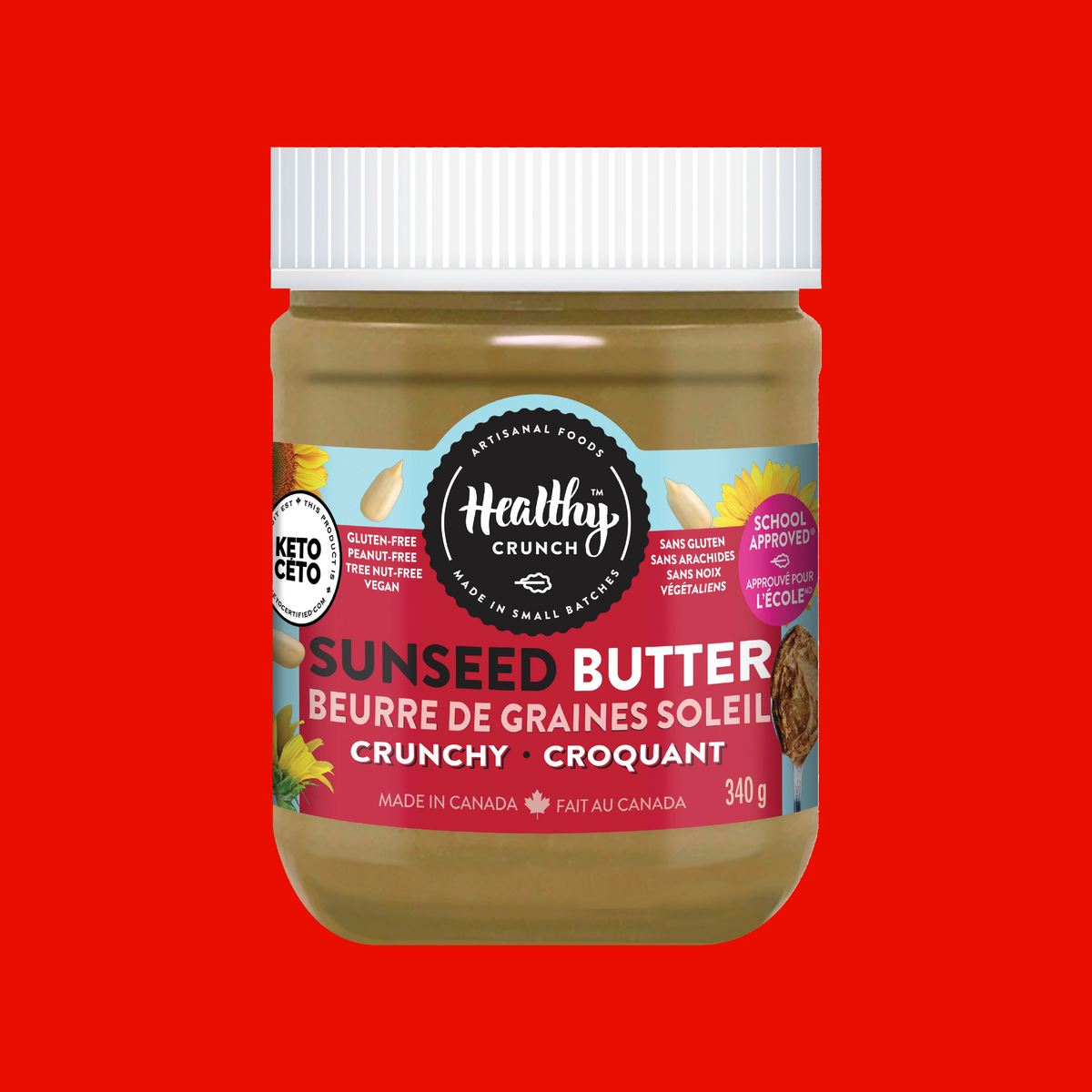 Crunchy Seed Butter