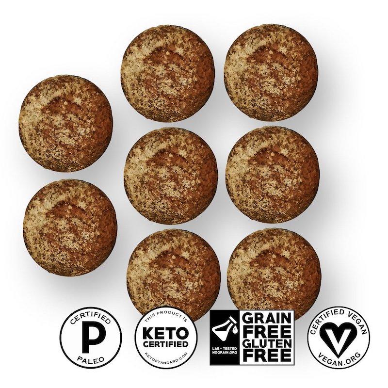 Keto Bread Rolls - Yez! Foods - Certified Paleo, Paleo Vegan, KETO Certified - Paleo Foundation