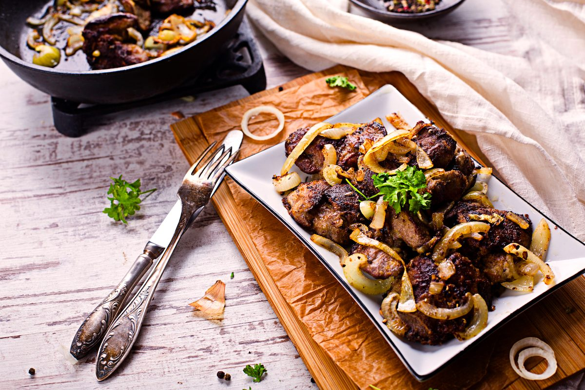 Keto Liver and Onions with Bacon Recipe