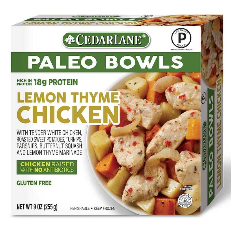 Lemon Thyme Chicken - Cedarlane Foods - Certified Paleo - Paleo Foundation