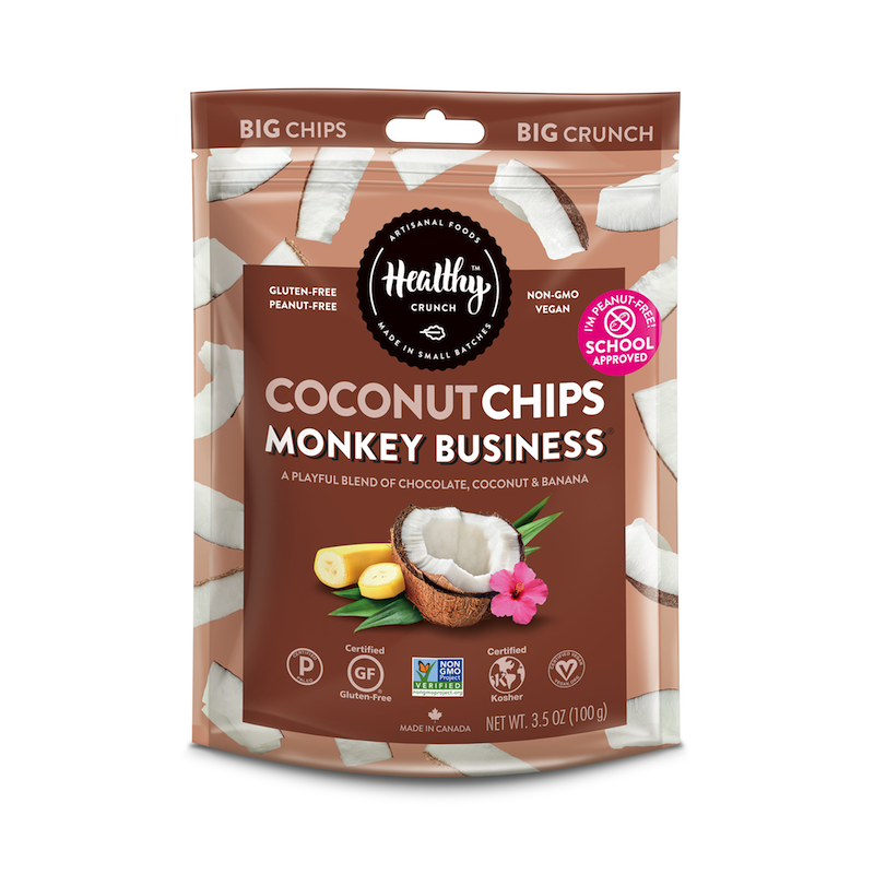 Monkey Business Coconut Chips - The Healthy Crunch Company - Certified Paleo - Paleo Foundation